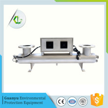 UV water sterilizer with controller unit