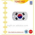 Collier d'étiquettes de chien en Corée du Sud