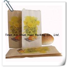 كيس ورق الورق حقيبة/خبز الذرة الصفراء