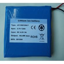 3.7V 12AH lithium polymer cells battery