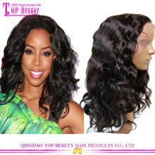 Preço de fábrica moda estilo barato Remy humano Full Lace India peruca de cabelo Price
