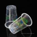 200 мл PP напечатаны на заказ одноразовые прозрачные пластиковые стаканчики для воды