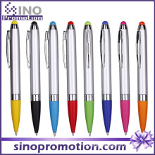 Click Ballpoint Pen with Rubber Tip Touch Pen Ball Pen