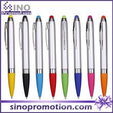 Нажмите Шариковая ручка с резиновым наконечником Стилус шариковая ручка