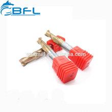 Outil de carbure de tungstène super dur plein CNC BFL Outils de coupe pour fraises-nez rondes standard. Toutes sortes d'usinages de rayon de coin