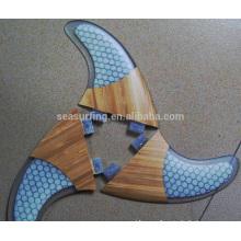 2015 new style honeycomb fiberglass surfboard fin/surfboard fins