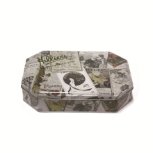 Aangepaste cadeauverpakking Mint Tin Cookie Box