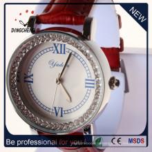 Мода часы женщины часы Кварцевые часы сплава часы (ДК-1098)
