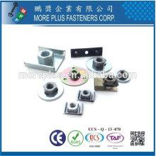 Taiwan Edelstahl 18-8 verchromt Stahl Kupfer Messing Schweißbolzen U Typ Nut Befestigung Schweißen Befestigungsteile