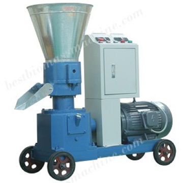 Home Use Flat Die Wood Pellet Press