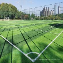 Grama artificial de futebol de playground com preço baixo