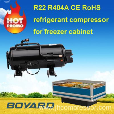 Display deep freezer parts r404a refrigerant compressore for Air compressor for pool closing