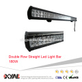 10-30V 180W High Rigidity Super Bright Waterproof 6000K PC Lens Double Row Straight Led Offroad Light Bar