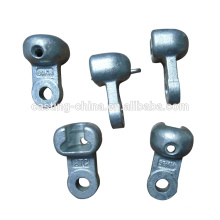 Carbon steel electrical power line hardware cast iron