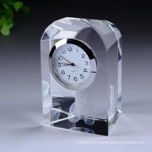 Reloj de cristal exquisito reloj de cristal artesanal reloj