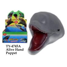 Brinquedo de fantoche de mão vivo engraçado