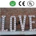 High Quality LED Bulb Letter Signs Wedding Decor