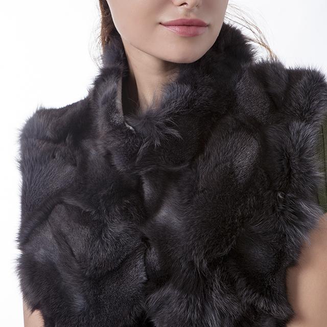 Cashmere fur coat fashion
