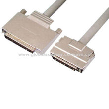 SCSI Cables with PVC and PE Overall Jacket, Various Colors AvailableNew