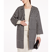 17PKCSC016 femmes double couche 100% manteau de laine de cachemire