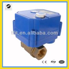 Autormatique avec électrique / Manuel SS304 9-24 V / AC / DC vanne à deux voies de moteur pour le système d'eau potable