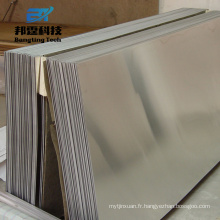 Aluminium 6061 t6 prix miroir feuille pour cheminée réfléchissante Aluminium plaque d'alliage 1006