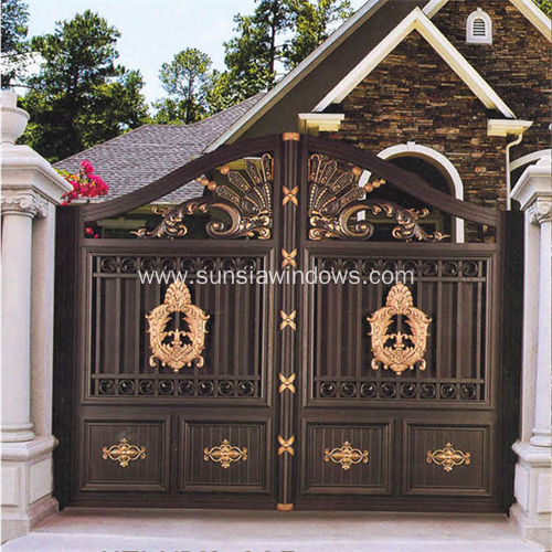 Residential Aluminium Double Gate
