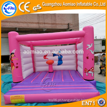 Mini inflável jump pad inflável jumper bouncer indoor