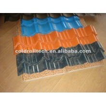 Roofing Steel Roof Tile Roll Forming Machine