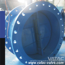 Cast Steel RF Flanged Butterfly Check Valve