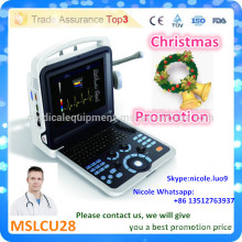 Christmas Promotion!! Factory price of 4d ultrasound machine and 4d doppler color doppler ultrasound scanner MSLCU28-i