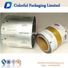 MOQ 200kg Transparenter Aluminium-Rollfilm für Protein