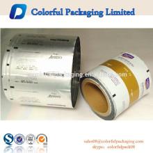 MOQ 200kg Transparent Aluminium roll film for protein