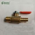 Soupape de contrôle de gaz durable à haute pression flexible