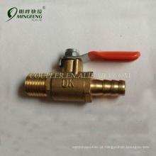 Válvula de controle de gás durável flexível de alta pressão
