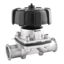 Stainless Steel Material Sanitary Clamped Diaphragm Valve