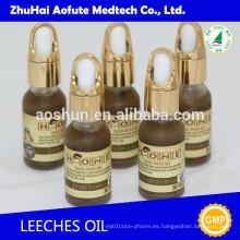 Aceite de leech de masaje corporal para hombre
