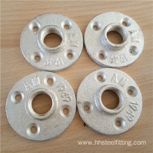 iron pipe fitting galvanized floor flange 1 1/4