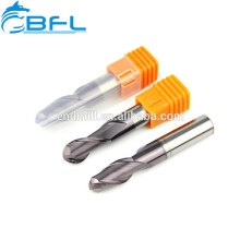Milling Cutters Part/Solid Carbide Ball Nose End Mill Bit For Aluminum