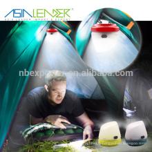 Produits Asia Leader BT-4894 Avec crochet dans le bas 3 * Alimentation AA Alimentation Mini Camping Light
