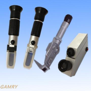 Refratômetro portátil com todos os tipos Todos os modelos