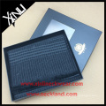 Gold Stamped Custom Logo Gift Packaging Scarf Box with Transparent Windows