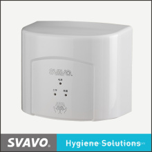 Svavo Safety Electronic Appliance Bathroom Jet Air Hand Dryer Hot Air Hand Dryer V-182