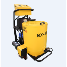Crack sealing machine for asphalt pavement