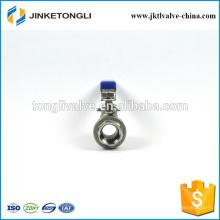 JKTL2B042 acero inoxidable cf8m 1000wog 2 piezas flotantes 1,5 válvula de bola