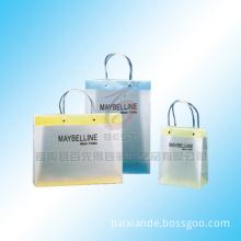 pvc shopping bag,handle bag