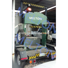 Mobile solid forklift tire press machine with good quality