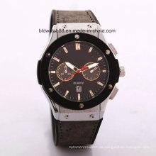 Promotion Japan Bewegung Lederband Armbanduhr Männer