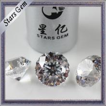 Diamante sintético redondo de alto grado superior para joyería de moda
