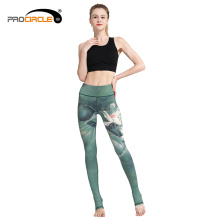 Venta al por mayor Fitness Sport Sublimation Women Yoga Pants